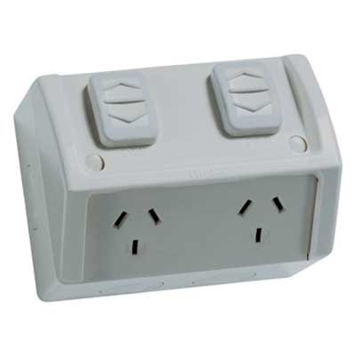 Clipsal Weatherproof Outlets