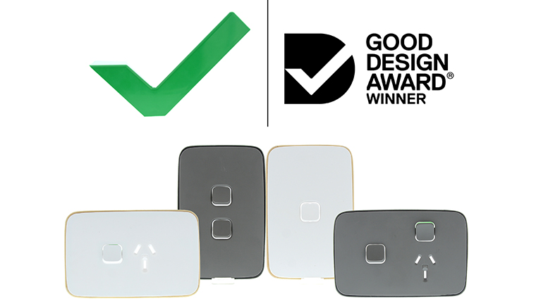 Clipsal Iconic Good Design Award Winner 2019