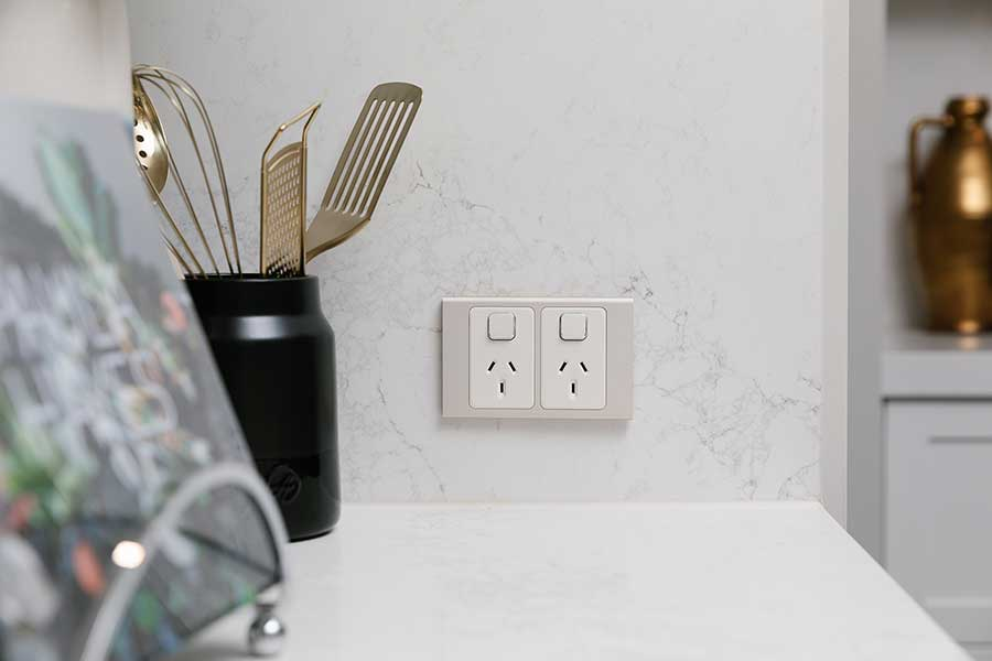 Stylish Clipsal electrical accessories