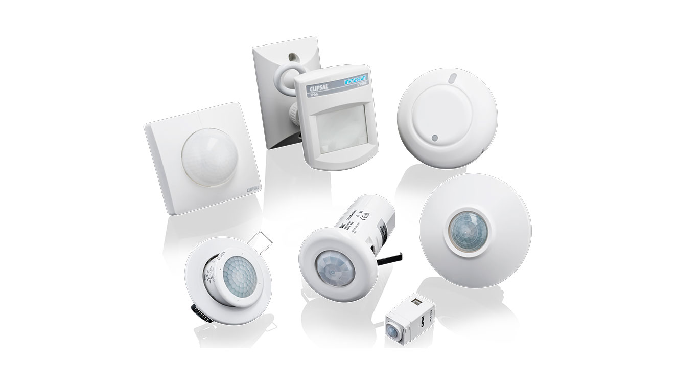 Clipsal Motion and Occupancy Sensors