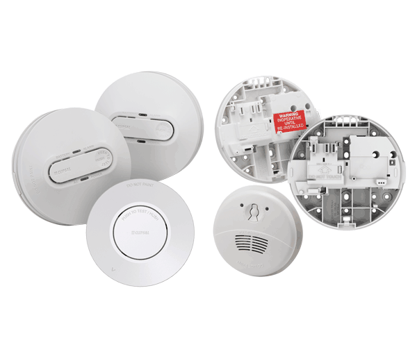 Different types of smoke detectors