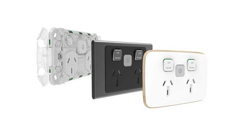 Wiser Iconic Styl and Essence connected sockets