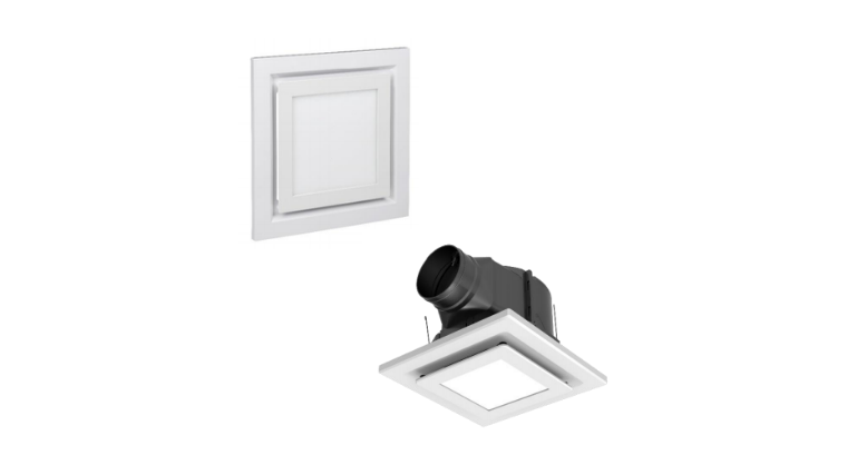 Clipsal Exhaust Fan with LED Grille