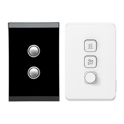 Clipsal Saturn and Iconic Light Dimmers