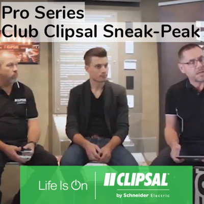 Video introducing the Clipsal Pro Series